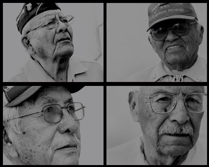 http://www.navajocodetalkers.org/ From left, clockwise: Keith Little, Teddy Draper Sr, Bill Toledo, and Samuel Tso.