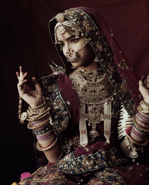A Rabari woman from India.